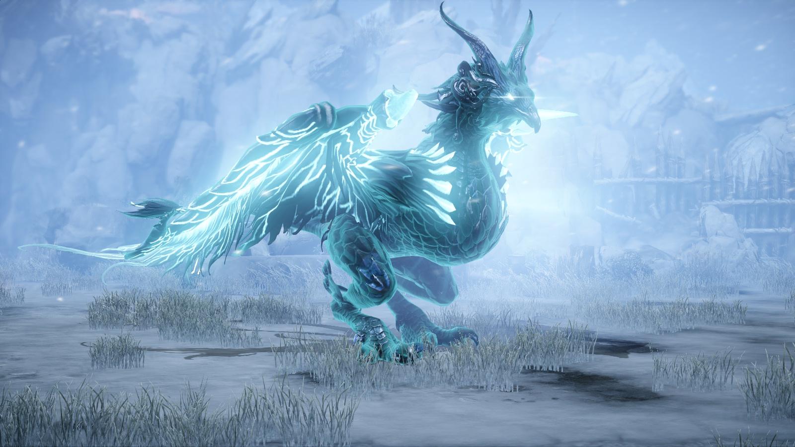 Ледяная Хелгая хранитель Lost ark